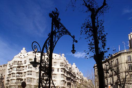 Architektur Gaudi, Barcelona | architecture Gaudi, Barcelona