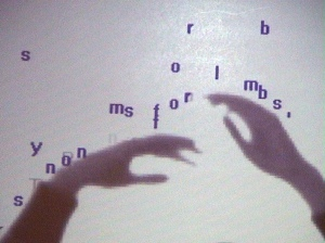 Utterback&Achituv_TextRain_screen 3_artist