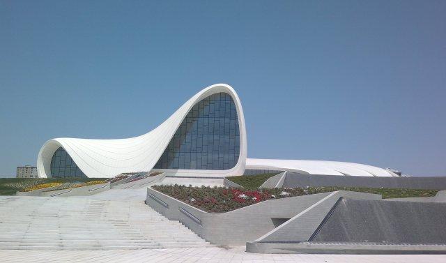 (Heydar Aliyev, Cultural Center in baku, Azerbaijan)