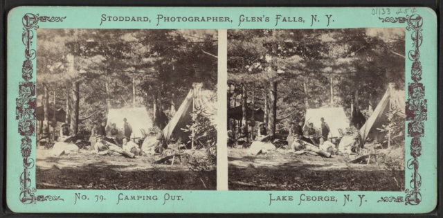 Camping_out,_Lake_George,_N.Y,_by_Stoddard,_Seneca_Ray,_1844-1917_,_1844-1917